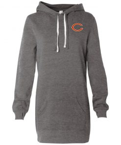 Private: Chicago Bears Women's Hooded Pullover Dress