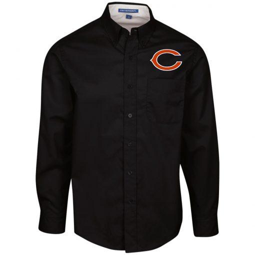 Private: Chicago Bears Men's LS Dress Shirt