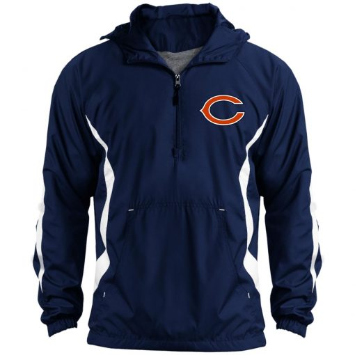 Private: Chicago Bears Unisex Colorblock Raglan Anorak