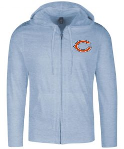 Private: Chicago Bears Lightweight Full Zip Hoodie