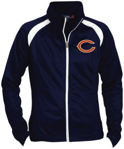 Private: Chicago Bears Ladies' Raglan Sleeve Warmup Jacket