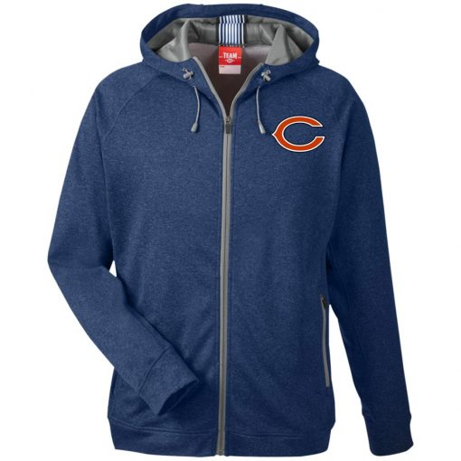 Private: Chicago Bears Men's Heathered Performance Hooded Jacket