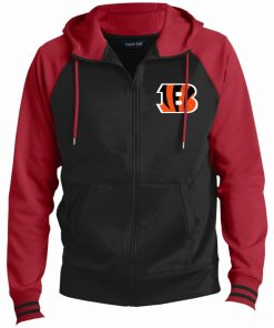 Private: Cincinnati Bengals Men's Sport-Wick® Full-Zip Hooded Jacket