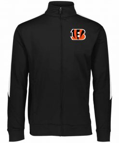 Private: Cincinnati Bengals Performance Colorblock Full Zip