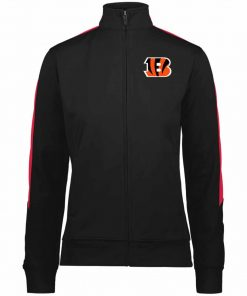 Private: Cincinnati Bengals Ladies' Performance Colorblock Full Zip