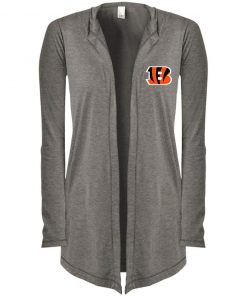 Private: Cincinnati Bengals Women's Hooded Cardigan