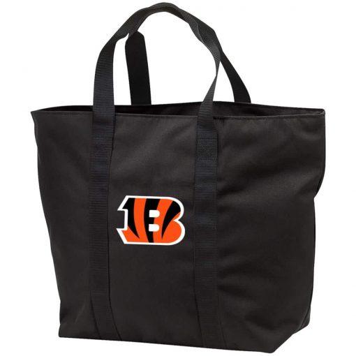 Private: Cincinnati Bengals All Purpose Tote Bag