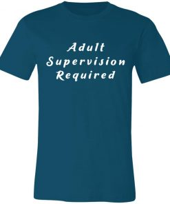 Private: Adult Supervision Required Unisex Jersey Tee