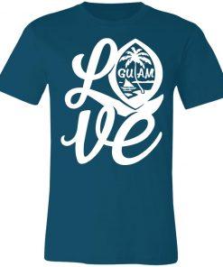 Private: I Love Guam Unisex Jersey Tee