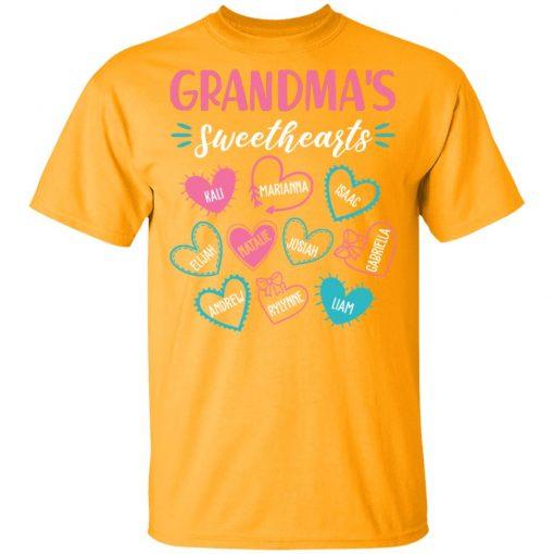 Private: Personalized Grandma's Sweethearts Men's T-Shirt