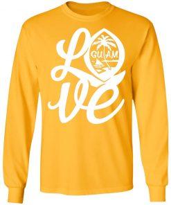 Private: I Love Guam LS T-Shirt