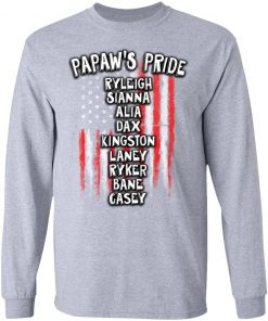Private: Papaw's Pride LS T-Shirt