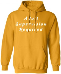 Private: Adult Supervision Required Hoodie