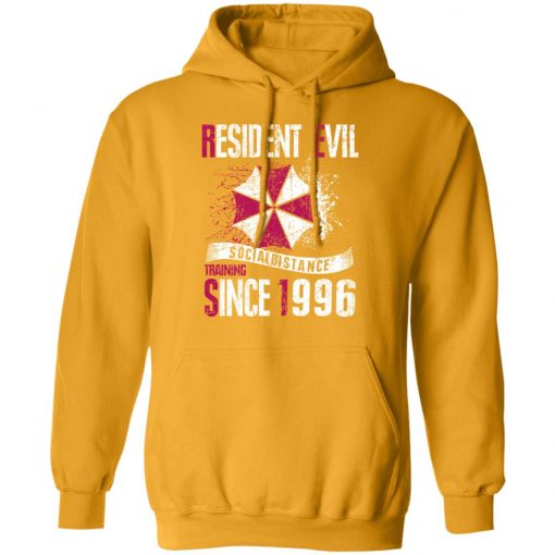 Private: Resident evil social distance training since 1996 Hoodie