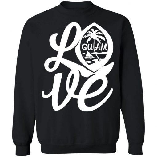 Private: I Love Guam Sweatshirt