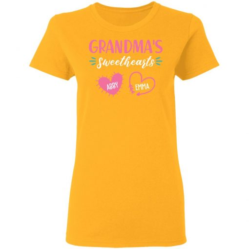 Private: Grandma's Sweethearts Women's T-Shirt