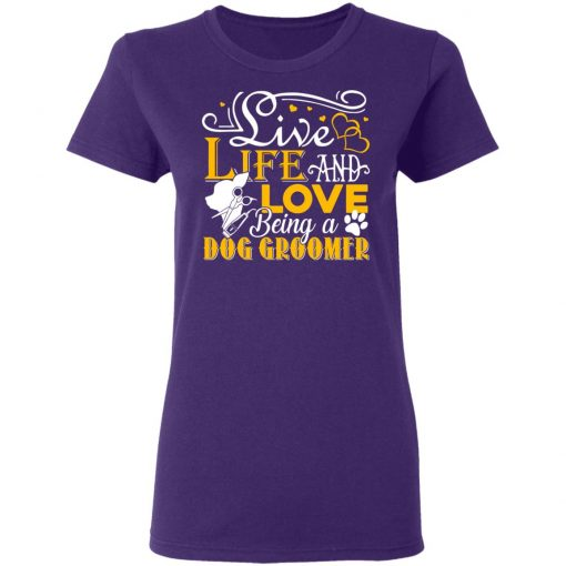 Private: Love Being A Dog Groomer Women's T-Shirt