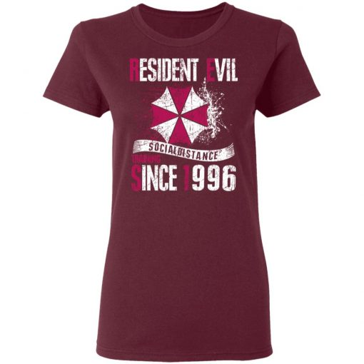 Private: Resident evil social distance training since 1996 Women's T-Shirt