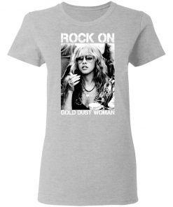 Private: Rock On Gold Dust Woman Women's T-Shirt