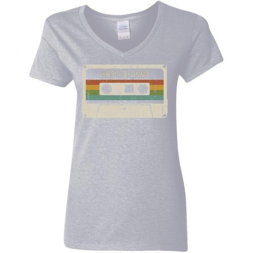 Private: Best of 1991 Women's V-Neck T-Shirt