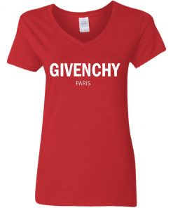 Private: Givenchy Paris Women's V-Neck T-Shirt
