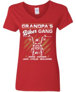 Private: Grandpa's Gang Women's V-Neck T-Shirt