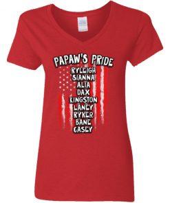 Private: Papaw's Pride Women's V-Neck T-Shirt