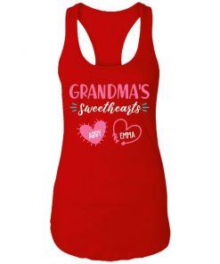 Private: Grandma's Sweethearts Racerback Tank