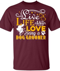 Private: Love Being A Dog Groomer Youth T-Shirt