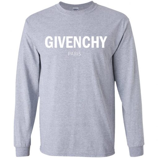 Private: Givenchy Paris Youth LS T-Shirt
