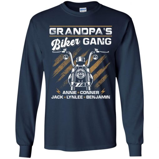 Private: Grandpa's Gang Youth LS T-Shirt