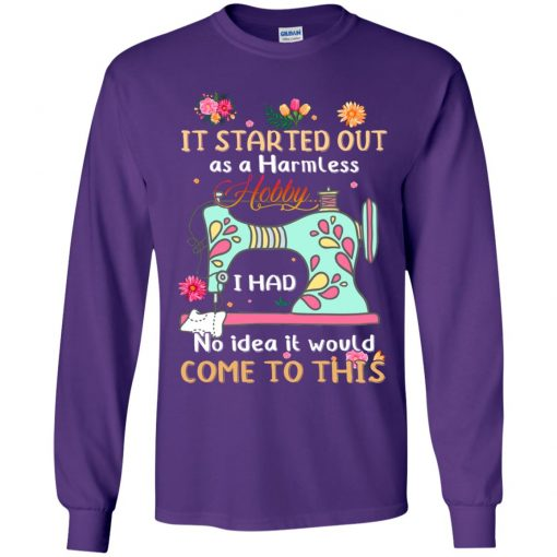 Private: It Started Out As A Harmless Hobby Youth LS T-Shirt