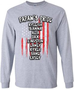 Private: Papaw's Pride Youth LS T-Shirt