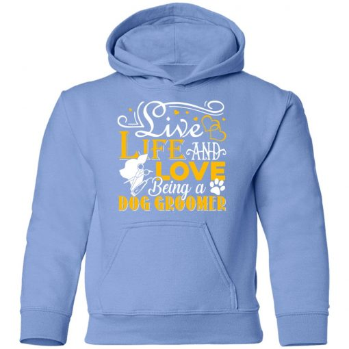 Private: Love Being A Dog Groomer Youth Hoodie