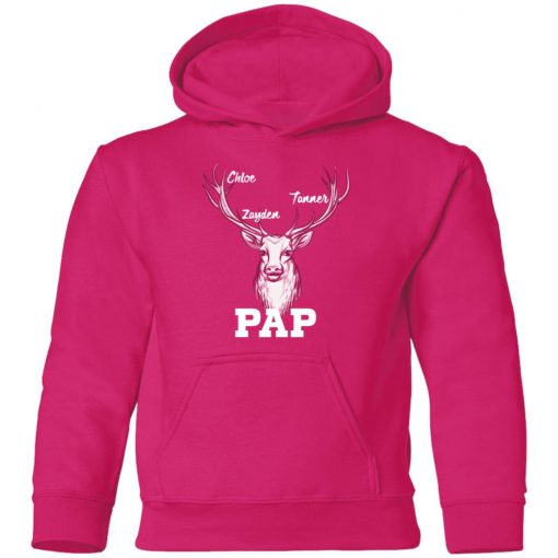 Private: Pap Chloe Zayden Tanner Youth Hoodie
