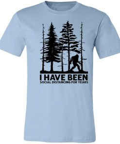 Private: I've Been Social Distancing for Years Unisex Jersey Tee