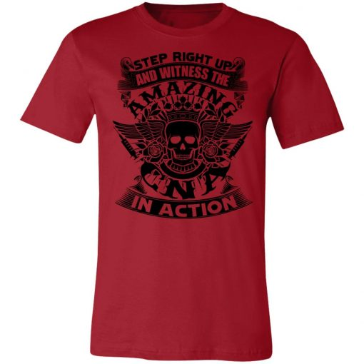 Private: Step Right Up and Witness The Amazing Electrician in Action Unisex Jersey Tee