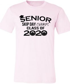Private: Senior Skip Day Champs Class of 2020 Unisex Jersey Tee