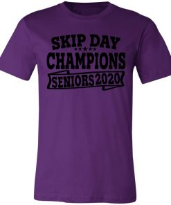 Private: Skip Day Champions 2020 Unisex Jersey Tee
