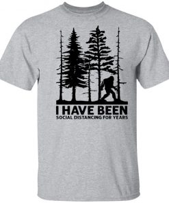 Private: I've Been Social Distancing for Years Men's T-Shirt