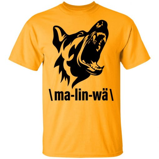 Private: Ma-lin-wa Belgian Malinois Men's T-Shirt