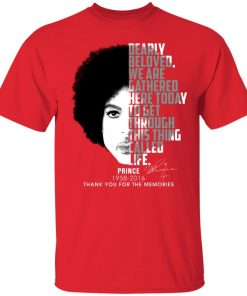 Private: Prince 1958-2016 Thank You For The Memories Men's T-Shirt