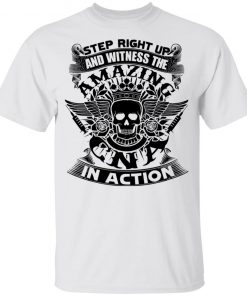 Private: Step Right Up and Witness The Amazing Electrician in Action Youth T-Shirt