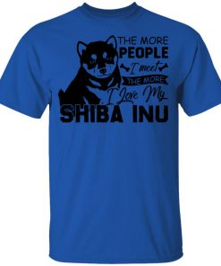 Private: The More People I Meet The More I Love My Shiba Inu Youth T-Shirt