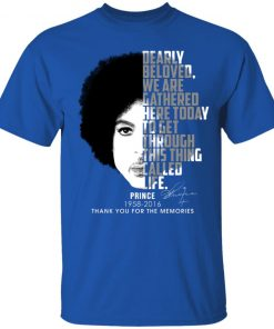 Private: Prince 1958-2016 Thank You For The Memories Youth T-Shirt