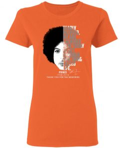 Private: Prince 1958-2016 Thank You For The Memories Women's T-Shirt