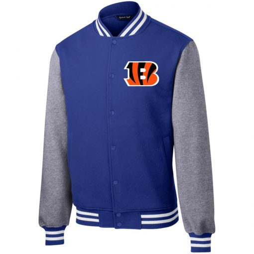 Private: Cincinnati Bengals Fleece Letterman Jacket