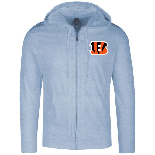 Private: Cincinnati Bengals Lightweight Full Zip Hoodie