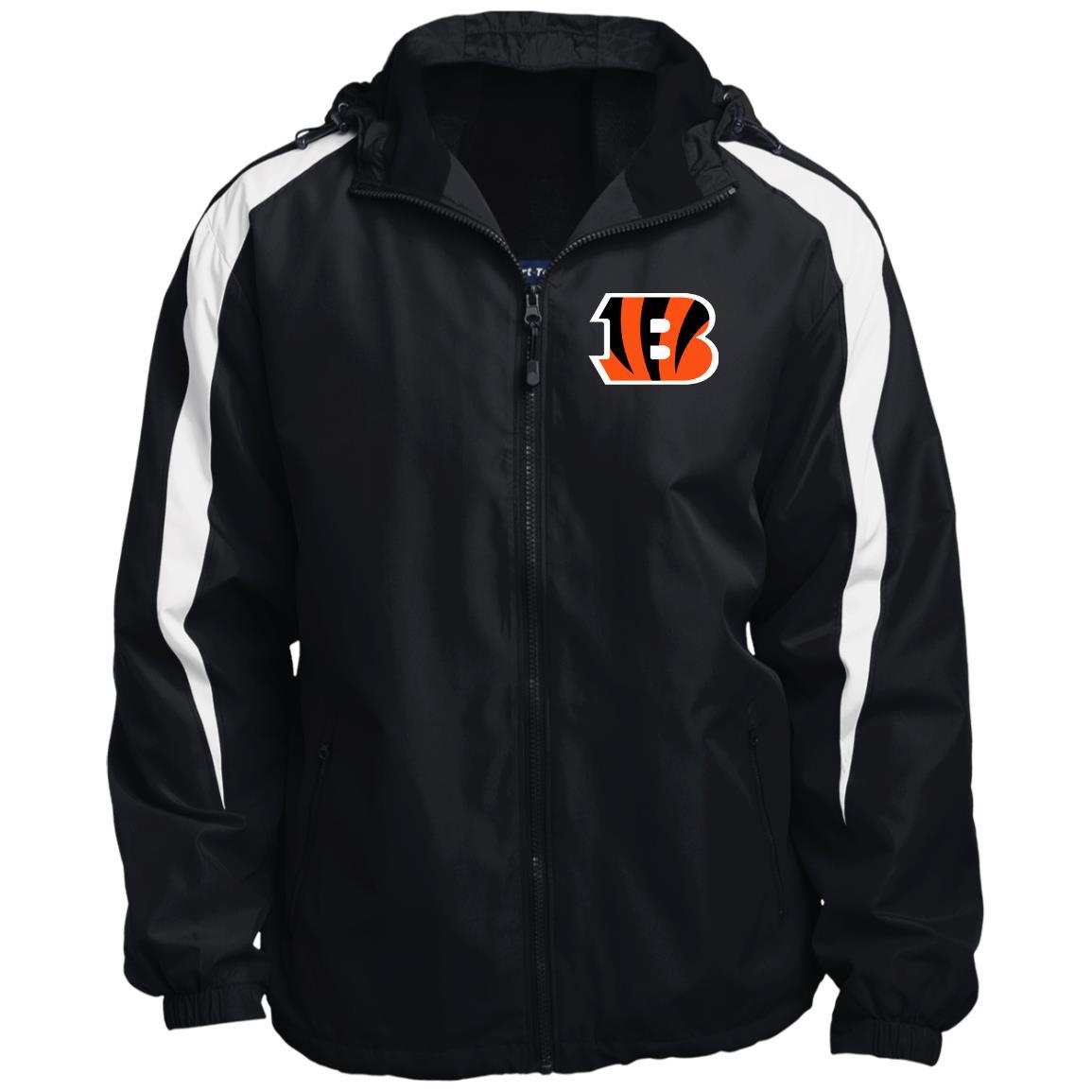 Private: Cincinnati Bengals Fleece Lined Colorblocked Hooded Jacket