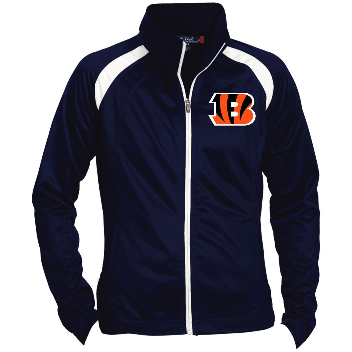 Private: Cincinnati Bengals Ladies' Raglan Sleeve Warmup Jacket